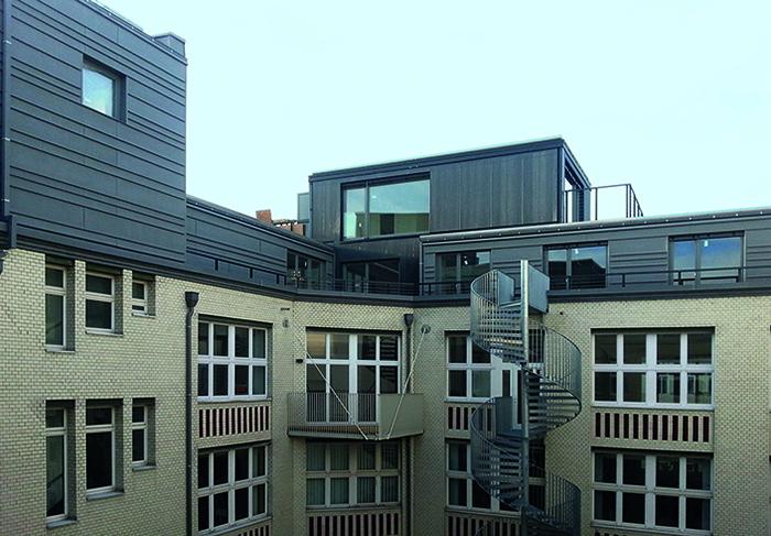Fabriketage in Berlin-Kreuzberg