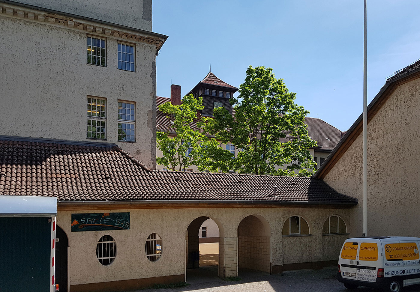 Schulen Berlin-Reinickendorf - Strangsanierung